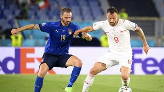 Euro 2020: la Suisse se fait balader par l'Italie