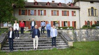 Les conseillers fédéraux resteront surtout en Suisse cet été
