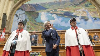 Berne: le socialiste Emmanuel Amoos est officiellement conseiller national