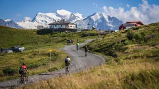 Ride the alps Croix-de-Coeur