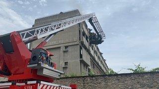 Sion: incendie au couvent des Capucins, une trentaine de pensionnaires du home de la Tour évacués