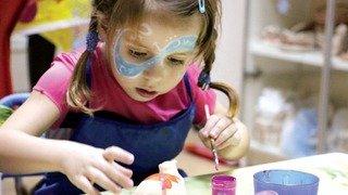 Atelier pour les enfants: L'atelier des arts