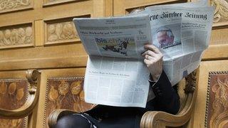 Sous la Coupole à Berne: coup de griffe des Etats à la liberté de la presse