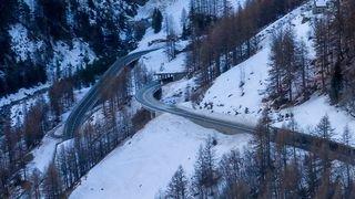 Trafic perturbé sur la route du Simplon
