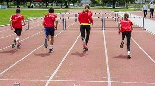 Athlétisme en Valais: ils courent toujours plus vite et sautent toujours plus haut