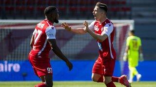 Football – barrage Super League/Challenge League: Sion se sauve dans une souffrance extrême