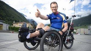 Cyclisme: «J'ai rêvé à ce projet alors que j'étais entre la vie et la mort», révèle Christian Salamin