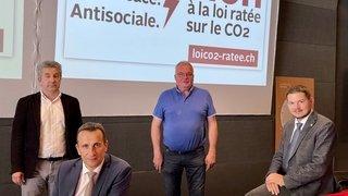 Loi CO2: selon ses opposants, la facture serait salée pour le Valais