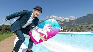 Antoine de Caunes en Valais: «J'aime aller voir ce qui se joue derrière les clichés»