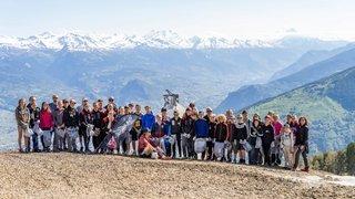 Cleaning Day: après les centièmes, les athlètes de Ski Valais vont chasser les déchets