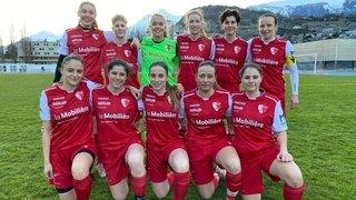 Promotion en LNB: Le FC Sion féminin gagne la première manche