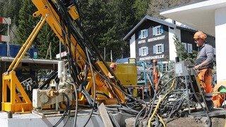Haut-Valais: premiers résultats positifs pour stocker du gaz naturel sous les Alpes