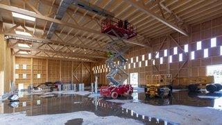 Le bois peut-il remplacer le béton dans la construction? Exemple sur un chantier colossal à Vétroz