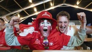L'explosion de joie des supporters aux quatre coins de la Suisse