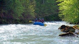 Rafting: dans l'écume des rapides de l'Oberland bernois