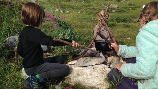 Valais: un retour à la vie sauvage, pour apprendre par l'expérience