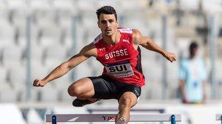 Athlétisme: «Je suis encore un peu choqué après ce chrono», témoigne Julien Bonvin