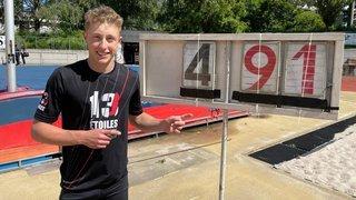 Athlétisme: un petit centimètre de mieux, pour Justin Fournier, ça compte