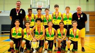 Basket: les U13 du BBC Monthey-Chablais titrés à domicile