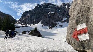 Randonnée en montagne: attention à la neige en altitude