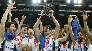Basket: «Des médailles d'or, je n'en ai pas encore assez», Arnaud Cotture après son titre avec Fribourg