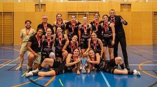 Les Espoirs d'Hélios Basket obtiennent le titre de NLB Women