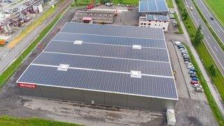 Evionnaz: une nouvelle centrale mégawatt est née