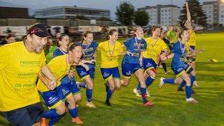 Football féminin: Printse Val d'Hérens remporte la finale de la coupe valaisanne