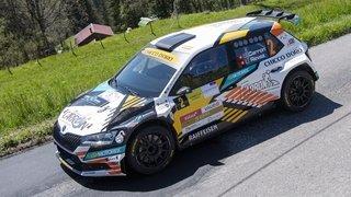 Sébastien Carron en tête du Rallye du Chablais au terme de la première journée