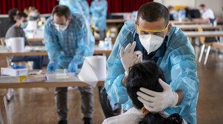 Coronavirus: la Suisse compte 282 nouveaux cas sur 19'892 tests réalisés en 24h