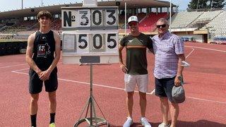 Athlétisme: Valentin Imsand décroche son billet pour les Européens U20 en saut à la perche