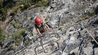 Osez l'aventure sur les vias ferratas du Valais