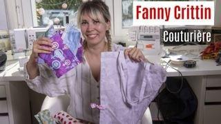 Nos artisans ont du talent: Fanny Crittin, couturière, confectionne des sacs à légumes en tissu