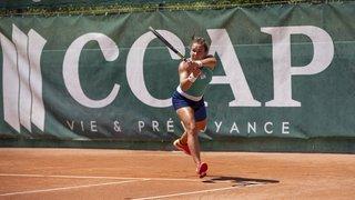 Tennis: à Klosters, Ylena In-Albon remporte son huitième titre