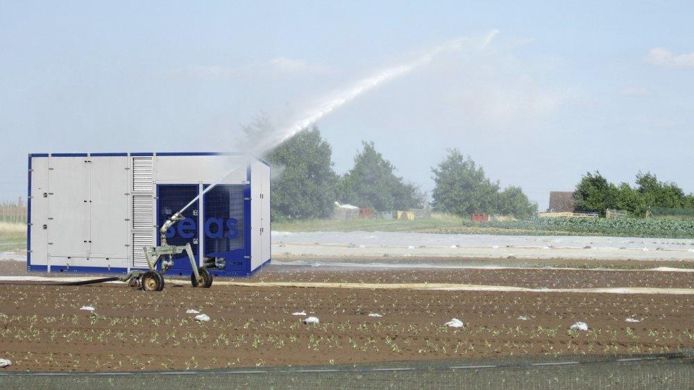 La Société de l'Eau Aérienne Suisse (SEAS) pourrait proposer une solution face aux pénuries d'eau.