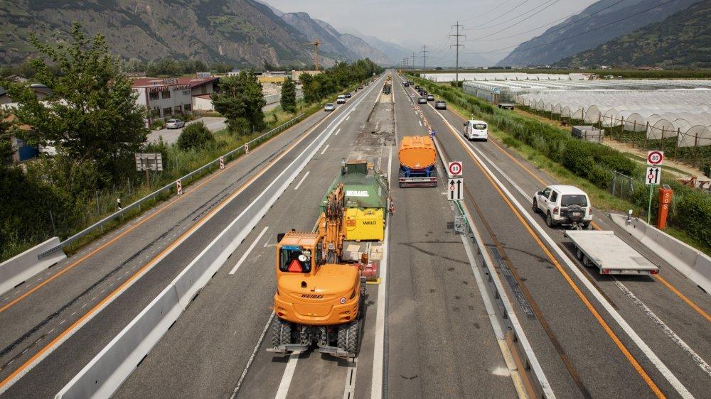 Autoroute A9: de nouvelles perturbations à venir entre Charrat et Saxon
