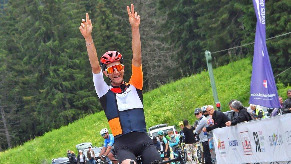 Raphaël Addy est de plus en plus seul au monde dans le milieu des cyclosportives.