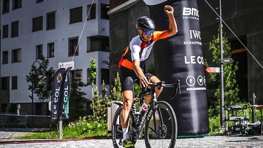 Raphaël Addy a fait la différence lors de l'ascension du Gotthard.