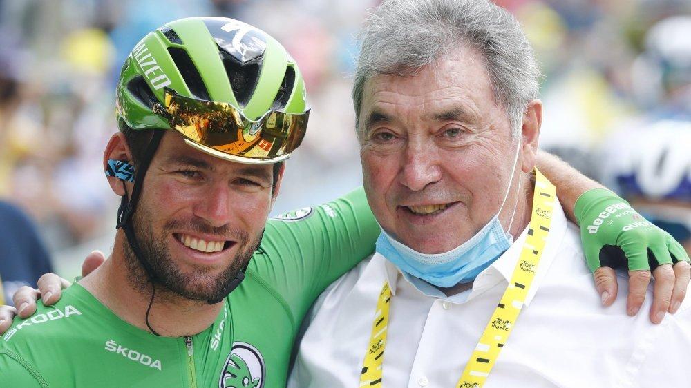 Mark Cavendish et Eddy Merckx se partagent, peut-être pour quelques jours encore, le record de 34 succès sur le Tour de France.