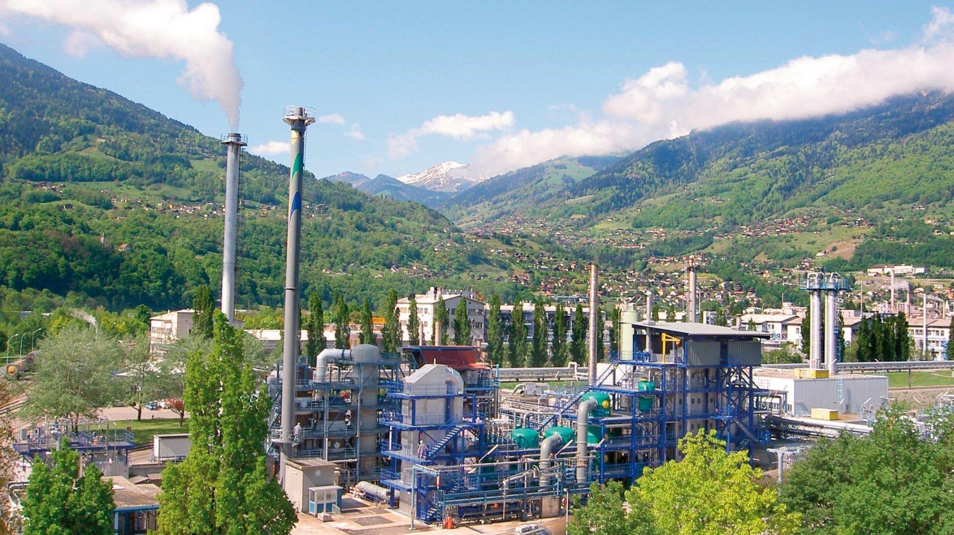 L'incinération des résidus chimiques existe depuis près de quarante ans à Monthey.