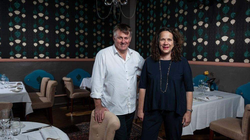Craig Pellington et sa femme Françoise sont à la tête de l'hôtel Dupeyrou depuis 1998.