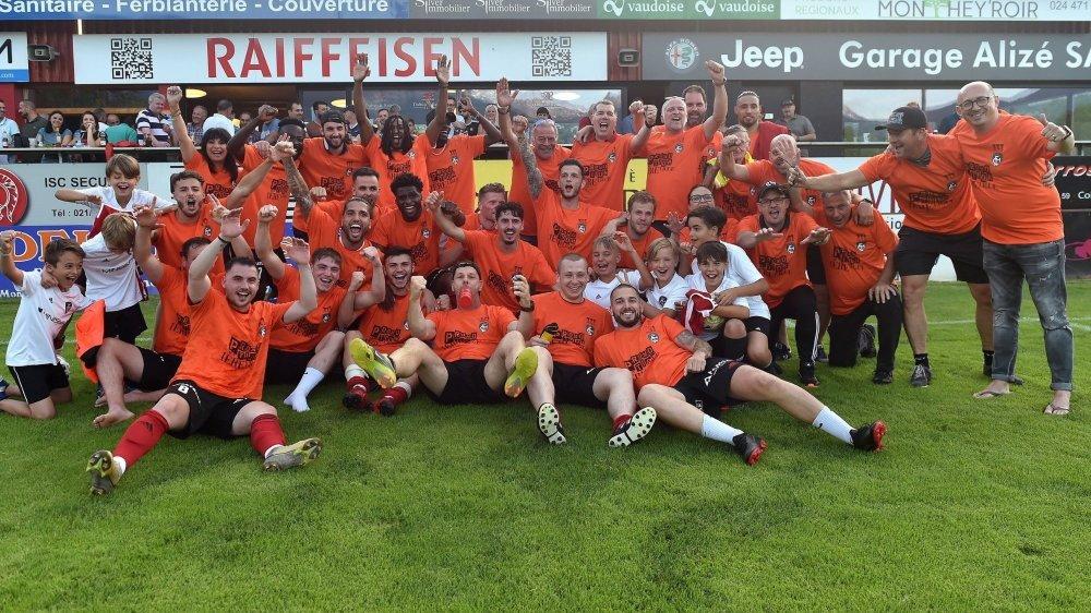 Le FC Monthey a enfin retrouvé la 1re ligue en juin dernier.