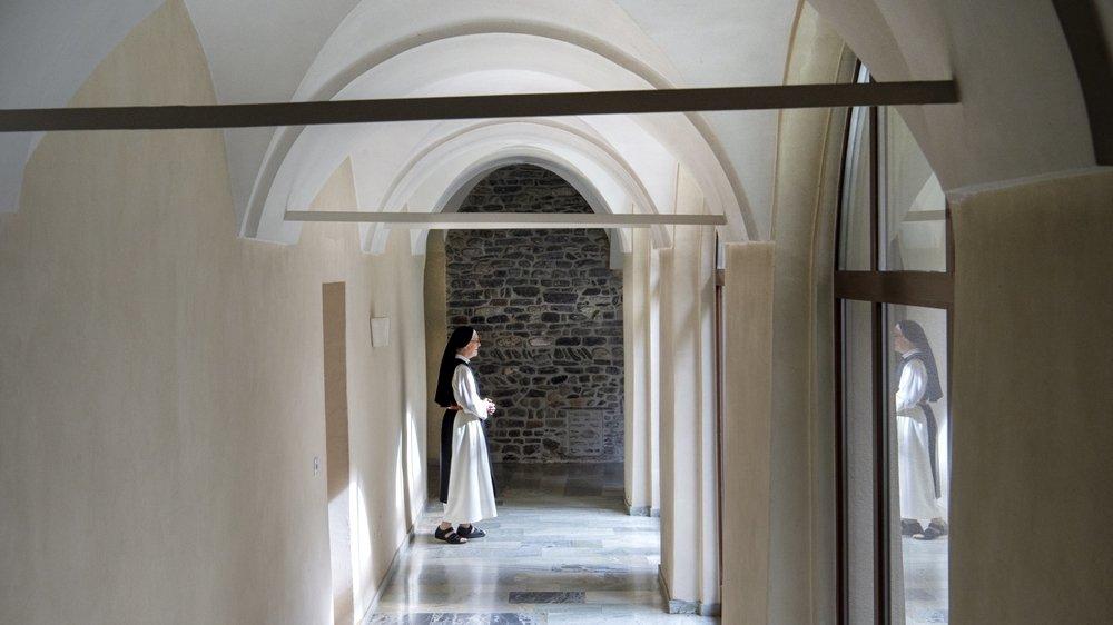 Les sœurs du couvent de Géronde nous ont ouvert leurs portes pour parler confinement à l'heure où le monde se déconfine.