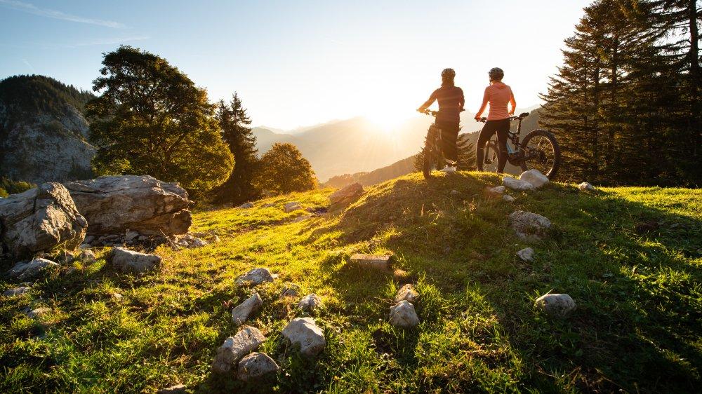 L'E-Bike Park de Torgon s'est doté d'un balisage inspiré des domaines skiables