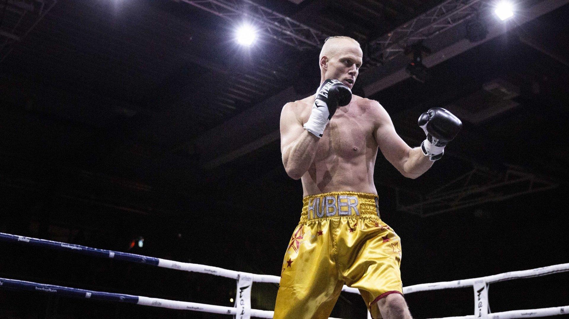 Benoît Huber n'est plus monté sur le ring depuis décembre 2019.