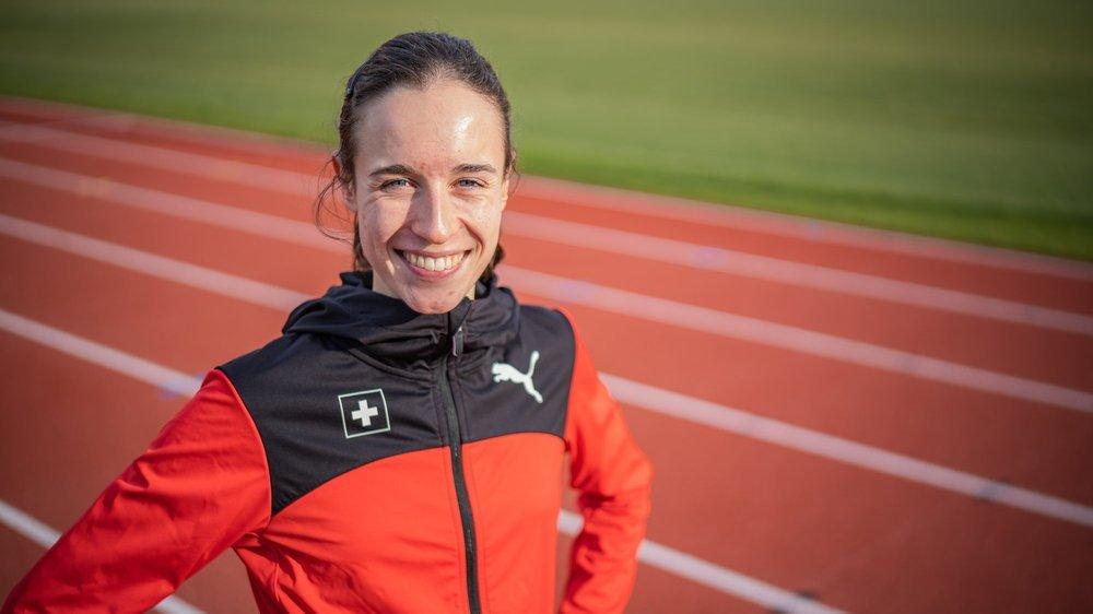 Lore Hoffmann est en pleine confiance après son premier podium en Diamond League, à Oslo.