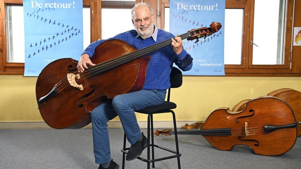 Directeur du Verbier Festival, Martin Engstroem veut faire vivre la musique malgré le Covid.
