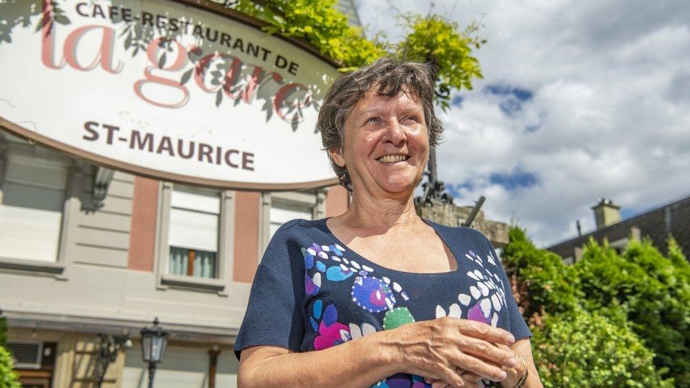 Patricia Lafarge est à la retraite depuis fin juin: «J'ai toujours rêvé d'aller au festival Poésie en arrosoir, dans le canton de Neuchâtel. J'ai enfin le temps.»