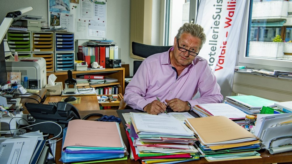 Pour Patrick Bérod, les hôteliers valaisans ont besoin d'un soutien financier supplémentaire rapidement.