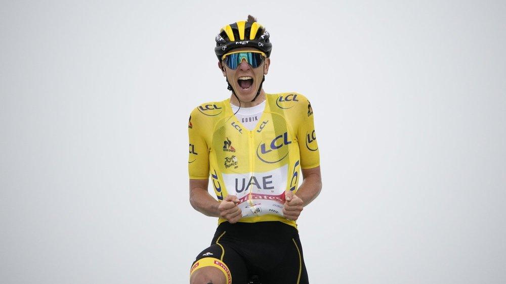 Tadej Pogacar a remporté sa première étape du Tour de France avec le maillot jaune sur les épaules.